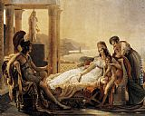 Pierre-Narcisse Guerin Dido and Aeneas painting